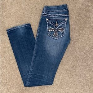 Women's Miss Me Straight Jeans Size 26
